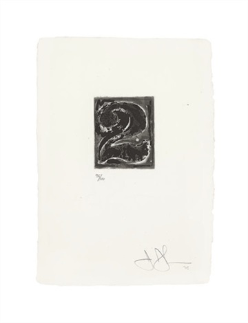 artwork 2 by jasper johns