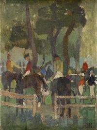 the paddock by earl haig