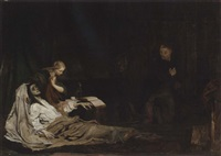 the return of the prodigal son by matthijs maris