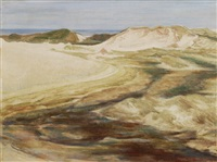 dunes on sylt by carl hilmers