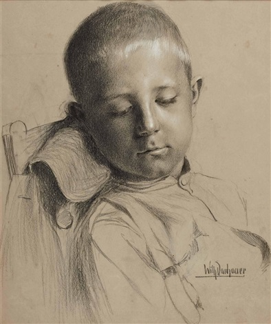 porträt eines knaben by wilhelm dachauer