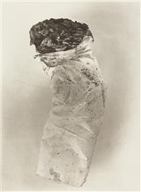 cigarette no. 8, new york by irving penn
