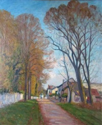 rue de village by louis le bail
