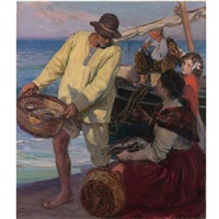 la vuelta de la pesca (the return of the fishermen) by josé mongrell torrent