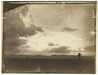 cloud study, near rome by carlo baldassare simelli