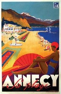 annecy la plage plm by robert falcucci