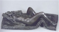 mujer reclinada by darío morales
