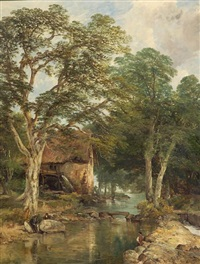 beech tree mill by frederick richard lee