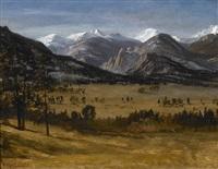 estes park colorado by albert bierstadt