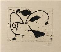 ocells de montroig, i, 1982 by joan miró