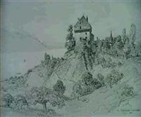 le chateau des cretes by alfred koechlin-schwartz