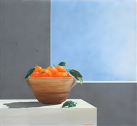 bowl of oranges by a. flessouras