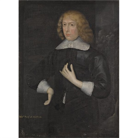 portrait of william seymour marquess of hertford later duke of somerset by gilbert jackson