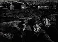 three generations of welsh miners by w. eugene smith