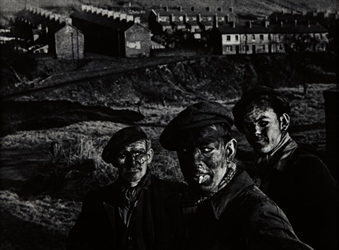 three generations of welsh miners by w eugene smith