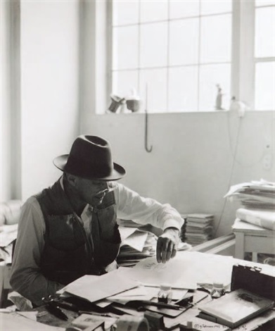 josef beuys düsseldorf by gottfried tollmann