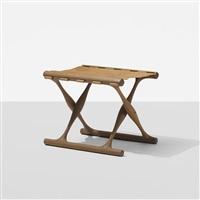 guldhoj folding stool by poul hundevad