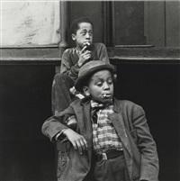 boys with cigarettes by helen levitt