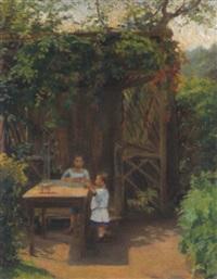 kinder im garten by hedwig marcella störck