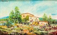 paisaje by ramon de campmany i montaner