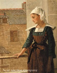 normandy girl by thomas hicks