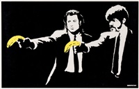 pulp fiction a/p by banksy
