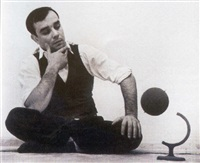 portraits d'yves klein by harry shunk
