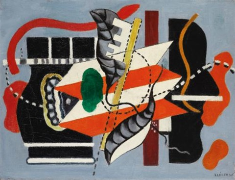 nature morte au profil by fernand léger