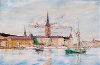 riddarfjärden - stockholm by rikard lindström