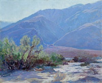 desert foothills of san jacinto by john frost