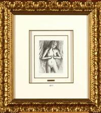 femme nue by paul delvaux