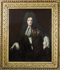 ritratto di charles warton - portrait of charles warton by herman verelst