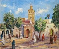 mosquée à marrakech by bruno retaux