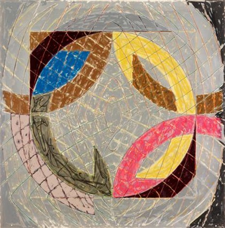 polar co ordinates viii from polar co ordinates for ronnie peterson by frank stella