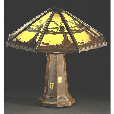 lighthouse table lamp by charles limbert