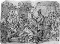 the adoration of the kings by andrea celesti