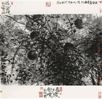 旭渡秋境 (autumn scenery) by jiang yan