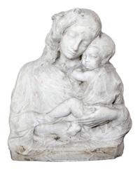 buste d'une mère à l'enfant by jean antoine pezieux