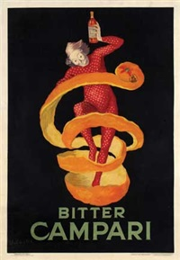 bitter campari by leonetto cappiello