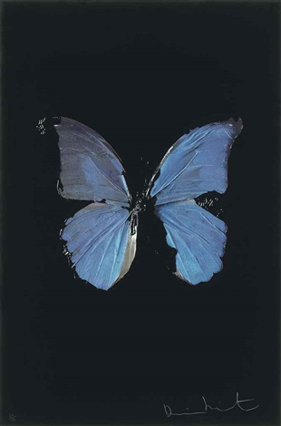 the soul on jacobs ladder by damien hirst