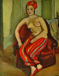 odalisque by georges (karpeles) kars