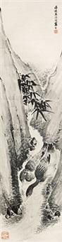 双鸭图 by li shijun