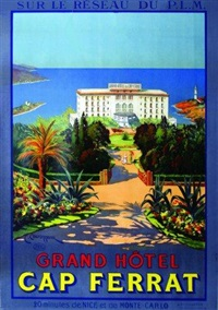 grand hôtel du cap ferrat by c. couronneau