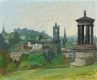 edinburgh from calton hill by charles mccall