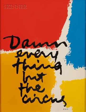 damn everything but the circus by sister corita kent