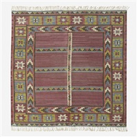 körsbärsmattan flatweave carpet by marta maas-fjetterstrom