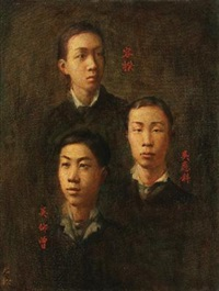 肖像系列之二十三 by li yousong