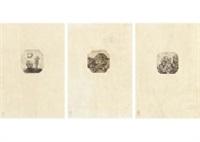 genesis creation (set of 3) by ryusei kishida
