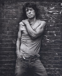 mick jagger, new york by mark seliger