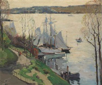 79th street boat basin, new york by anthony thieme